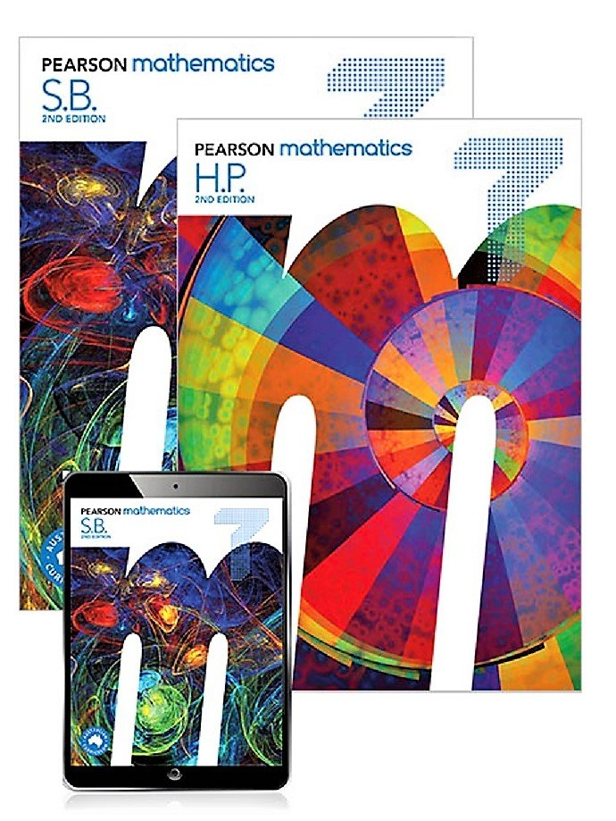 Pearson Mathematics 7 Student Book and Homework Program with Reader+ 2nd  Edition