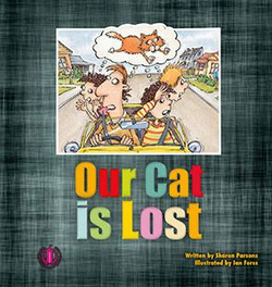 Literacy Tower - Level 2 - Fiction - Our Cat Is Lost - Single 9781776500093