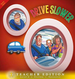 Literacy Tower - Level 8 - Fiction - Drive Slower - Teacher Edition 9781776502080