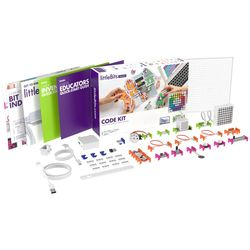 littleBits - 8 X Code Kit Education Class Pack + 3 X Storage Box - Suits 24 Students 810876022606