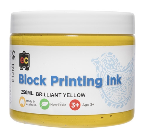 Block Printing 250ml Br.Yellow 9314289001988