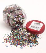 Glitter Stars Assorted colours 100g (Assorted Colours, 100g) 9314812106586