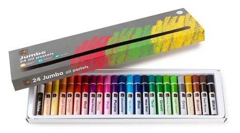 Oil Pastels Jumbo Pk Of 24 9314289024413