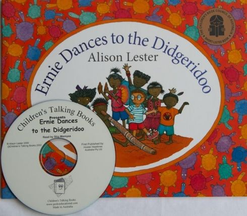 Childrens Talking Books: Ernie Dances to the Didgeridoo Listening Post Set (4 Books and 1 CD) 2770000044011