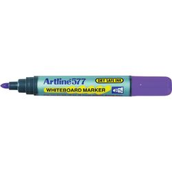 Whiteboard Marker Artline 577 Bullet Purple 2mm 4974052812699