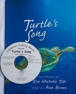 Childrens Talking Books: Turtle's Song Listening Post Set (4 Books and 1 CD) 2770000044066