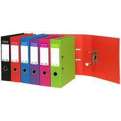 Lever Arch File A4 PE Red 75mm Spine Marbig Colourhide® 9312311173788
