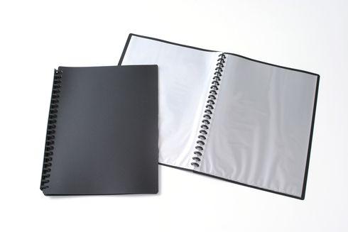 Display Book A4 Refillable 20 Pocket Asst Cols 9310029318255