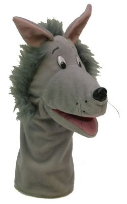 Wings Hand Puppet - Wolf 9781740496438