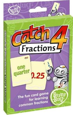 Game Catch 4 Fractions 9781741353198