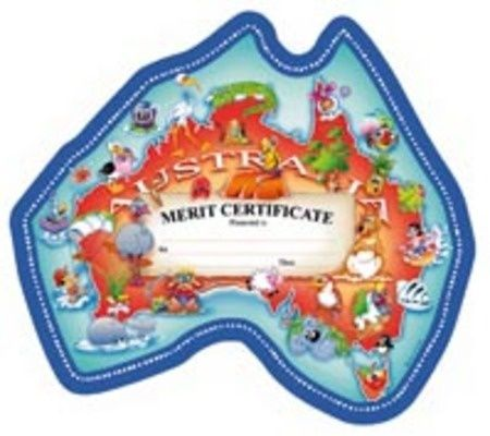 Certificates - Our Australia  - Pk 200 CE314
