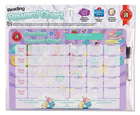 Reading Reward Chart (Lilac) 9314289003784
