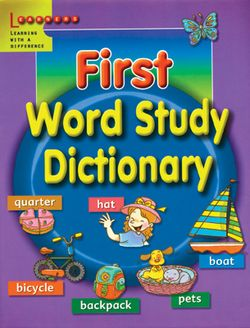 First Word Study Dictionary 9789814107952
