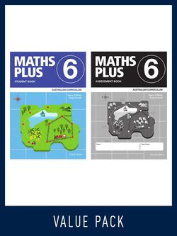 Maths Plus Australian Curriculum Ed Student And Assessment Book 6 Value Pack, 2020 9780190027209