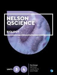 Nelson QScience Biology Units 3 & 4 Student Book with 4 Access Codes