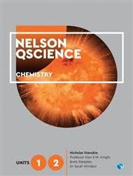Nelson QScience Chemistry Units 1 & 2 Student Book with 4 Access Codes