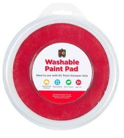 Paint Stamper Pad Red 15cm Diameter 9314289015558