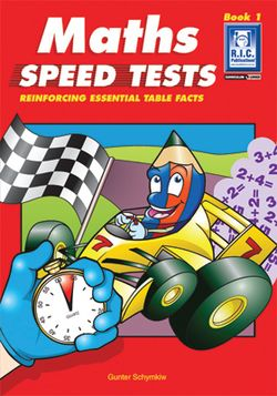 Maths Speed Tests Book 1 Ages 8 - 11+ 9781863115414