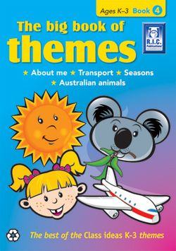 The Big Book of Themes Book 4 Ages 5 - 7 9781741266559