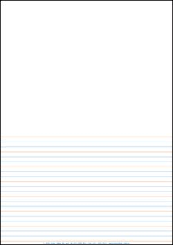 Lined Paper - A4 Half Page - Year 2 Class Pack Of 250 YI77023