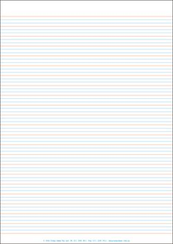 Lined Paper - A4 Full Page - Year 1 Class Pack Of 250 YI77344