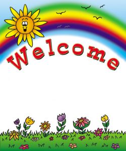 Rainbow Welcome Chart 554mm X 429mm Harleys The