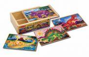 Dinosaur Jigsaw Puzzles in a Box MND3791
