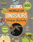 World of Dinosaurs Sticker Activity 9781472389053