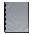 A4 Clear Front Display Book - Assorted Colours (Clear) 9310029318088