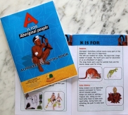 A is for Aborigine - Alphabet Learning Book 2770000795166