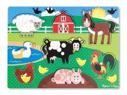 Farm Peg Puzzle 8pc 2770009253209