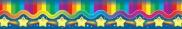 Stars and Rainbows Pop-Apart Border CD4010