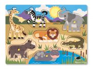 Safari Peg Puzzle 7pc 2770009253223