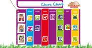 Magnetic Chore Chart Pack CC001