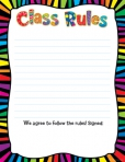 Class Rules Chart CTP6422