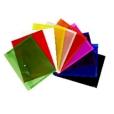Document Wallet A4 Button Closure Asst Colours Tudor 2770000837408