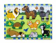 Pets Chunky Puzzle 8pc 2770000725576