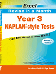 Excel Revise in a Month - Year 3 Naplan*-style Tests 9781741252071