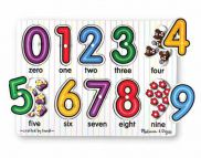 See-Inside Numbers Peg Puzzle 10pc 2770000710879