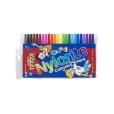 Felt Pens Pk 24 Texta Nylorites Colour Markers 9311960178854