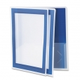 Flexi View Two Pocket Folder Navy 2 Pack 9313596478469