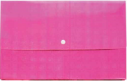 Document Wallet - Pink Sparkle 610696042194