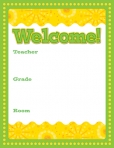 Lemon Lime Welcome Chart 9781624420139