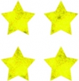 Stars Gold Foil Chart Seals CD2166
