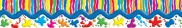 Paints Splashes and Stripes Pop-Apart Border CD4013