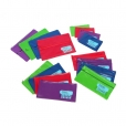 Pencil Case 2 Zips PVC Marbig, 325 x 180 - Large Name  (Assorted Colours) 9312311439990