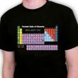 Periodic Table Shirt - L/14 9341570000290