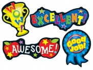 Positive Words Shape Stickers 2770000917520