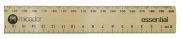 Ruler Wooden 30cm Micador Essential 9313306017711