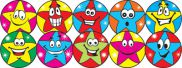 Star Spots Stickers  SUN004